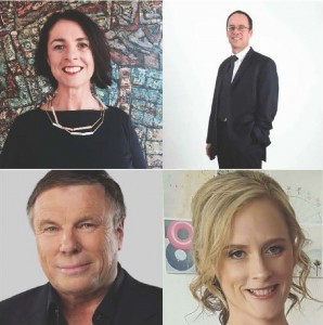 The panellists at our Future of Journalism event were (clockwise from top left) Joce Nettlefold from the ABC, Matt Deighton from the Mercury, Vivienne Kelly from Mumbrella and Charles Wooley from Nine's 60 Minutes.