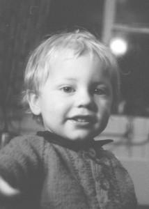Sandy Duncanson as a child.