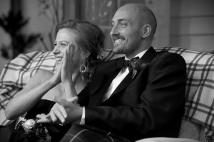 Sandy Duncanson and Meredith Wilson on their wedding day in 2010