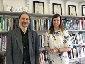 Professor of Sociology Douglas Ezzy and Dr Hannah Murphy-Gregory, lecturer in politics and international relations at the University of Tasmania