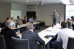 Guy Barnett address the workshop