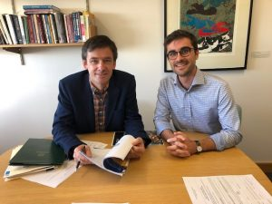 Professor Richard Eccleston (left) and PhD Candidate Lachlan Johnson comment on the Federal Budget.