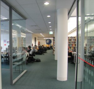 Photo of the Science Library interior